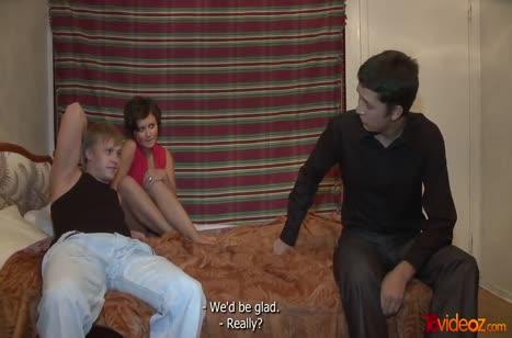 Молодая русская чика была даже не против разнообразия