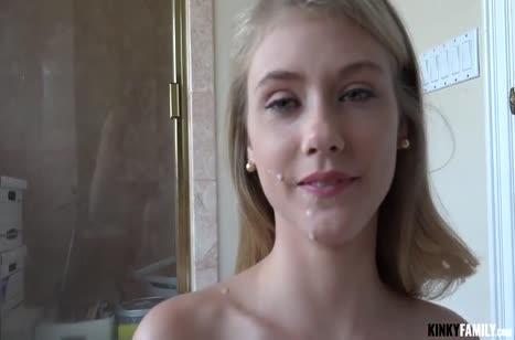 Молодая Hannah Hays сняла с ухажером домашнее порно